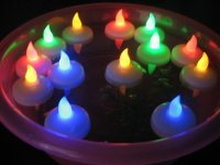 LED009 FLOATING LED CANDLE (S)