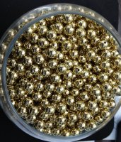 PD0013-10 PEARL BEAD-LIGHT GOLD