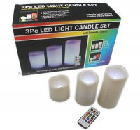 CANDLE SET /REMOTE